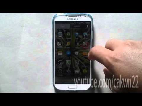 Ssmsung Galaxy S4: Cara Menghapus Home Screen Di HP Android 4.3 (Jelly Bean)