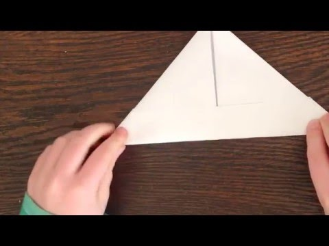 How to make  paper hats! EASY!!!