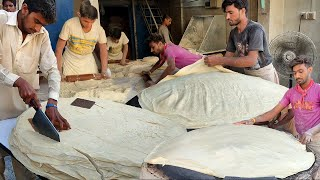 Ramadan Street Food Manda Roti Making | Street Samosa Patti & Roll Sheets | Rumali Roti