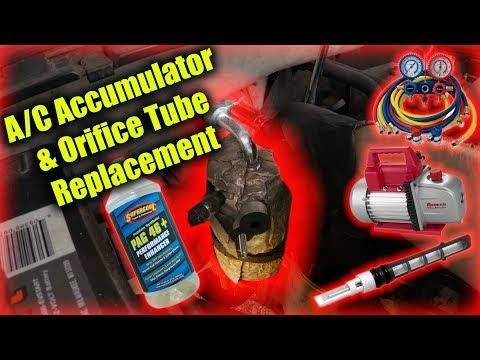 A/C Accumulator & Orifice Tube Replacement