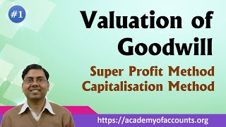 #1 Valuation of Goodwill [Super profit and Capitalisation Method]