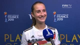 Sara Daebritz – Player of the Match – South Africa v Germany