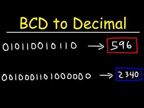 BCD to Decimal Conversion