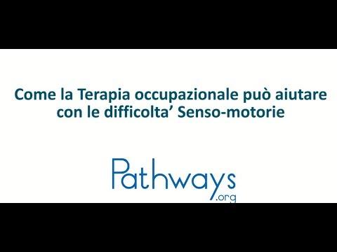 Come la Terapia occupazionale può aiutare con le difficolta' Senso-motorie - Italian SI 301