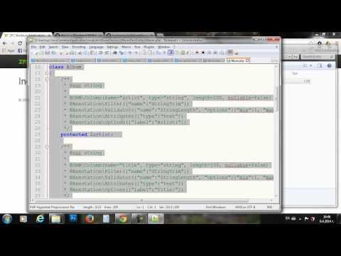 ZF2 Просто, Лесно, Бързо. CRUD с Data Mapper (Doctrine ORM) - SoftUni част 4/4
