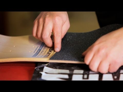 How to Adhere Grip Tape | Custom Skateboard