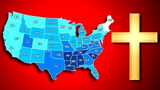 Top 10 Most/Least Religious States in America