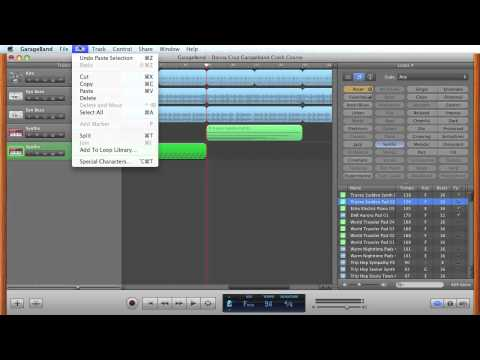 Apple Garageband Crash Course - How to Create Your Own Video Soundtrack