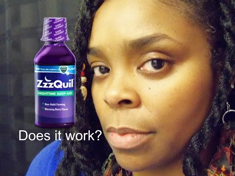 Does ZzzQuil Sleep Aid REALLY Work?  #Zzzquil Review
