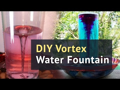 HOMEMADE Tornado | How to make a Vortex Water Fountain