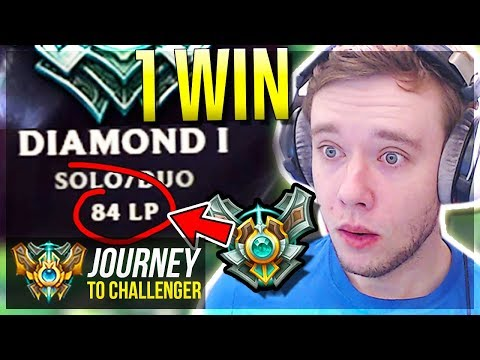 ONLY 1 WIN FROM MASTER PROMOS!!!!!!!!!!!!! IS THIS IT??- Journey To Challenger | League of Legends