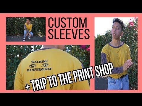 ✂ Custom Sleeves: Dual panel Tutorial