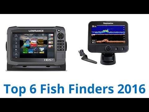 6 Best Fish Finders 2016