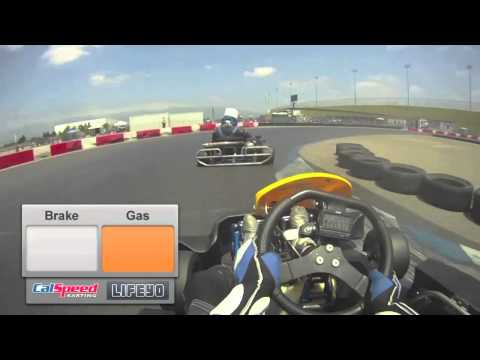 How to Race a Go Kart:  Calspeed Tutorial