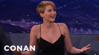 Jennifer Lawrence Wet The Bed At Age 13
