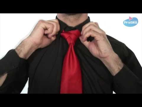 How to Knot a Tie - the Eldredge