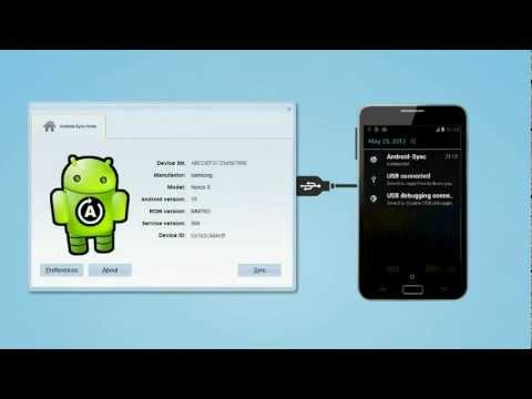 How to USB sync Android with Outlook