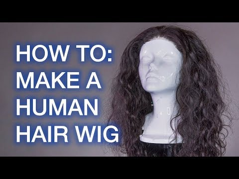 How To Make A Human Hair Wig! For Beginners! (ft. Beauty Forever Hair)