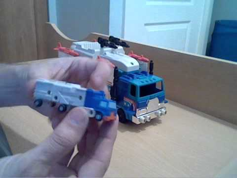 transformer g1 autobot micromaster base/headquarter's