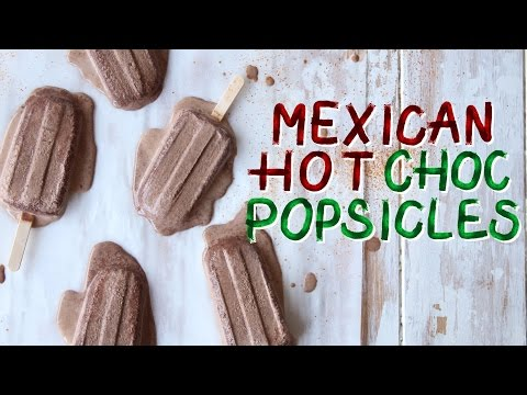 Mexican Hot Chocolate Popsicles | The Scran Line