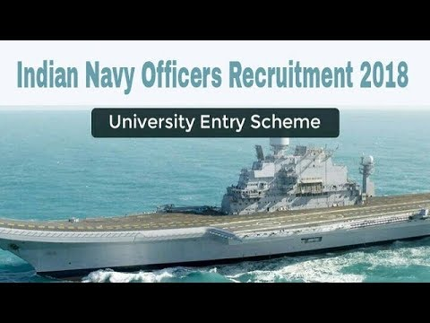 Indian Navy Recruitment 2018 for 108 SSC & PC Officer Posts || Apply Online!!