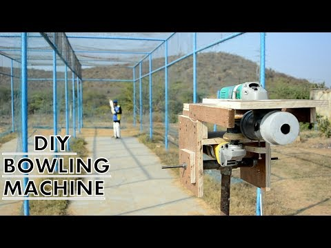 How to Make Cricket Bowling Machine at Home