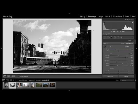 How I Edit My Black and White Photos