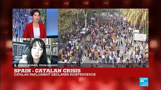 """Catalan Crisis: """"Many Spaniards feel it is a coup, that it is illegal and it needs to be stopped"""""""
