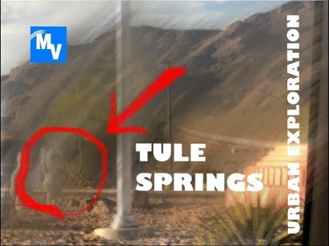 Urban Exploration   Tule Springs Nevada