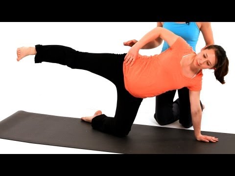 How to Do SI Joint Dysfunction Exercise | Pregnancy Workout