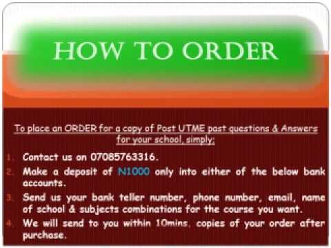 HOW TO DOWNLOAD UNIBEN POST UTME PAST QUESTIONS FREE