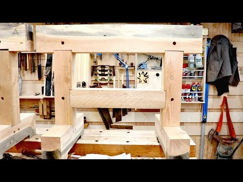 Sturdy SAWHORSES With No Power Tools