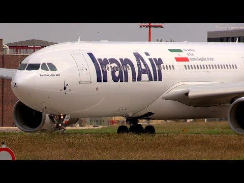 ᴴᴰ ✈ Iran Air Airbus A330-200 Takeoff @ Hamburg