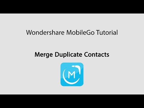 MobileGo: Merge Duplicate Contacts on Android Phones