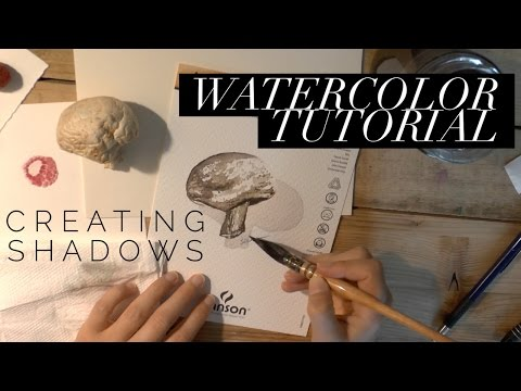 How to Use Watercolor: Painting Shadows