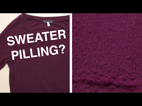 How To Depill A Sweater