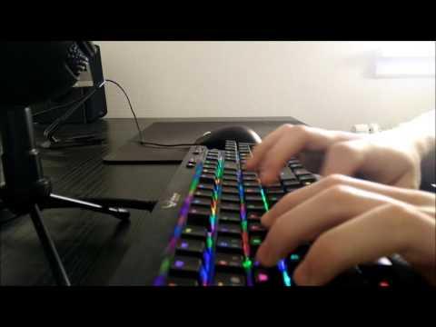 ASMR| Fast Typing - Mechanical Keyboard
