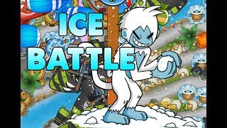 First Arctic Wind Ever?! Bloons Td Battles
