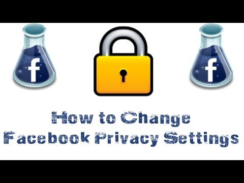 How To Change Your Privacy Settings On Facebook - Facebook Tutorial