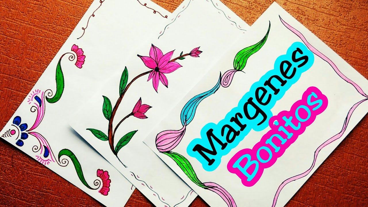 Ideas De MÁrgenes Para Decorar Cuadernos Y Libretas: Download Margenes Para Cuadernos