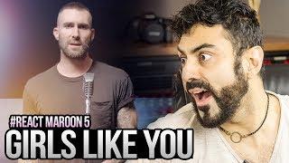 REAGINDO a Maroon 5 - Girls Like You ft. Cardi B