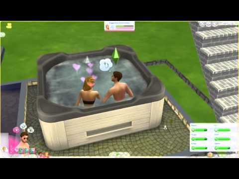 The Sims 4-McLoughlin Family-Kids and Hot Tubs