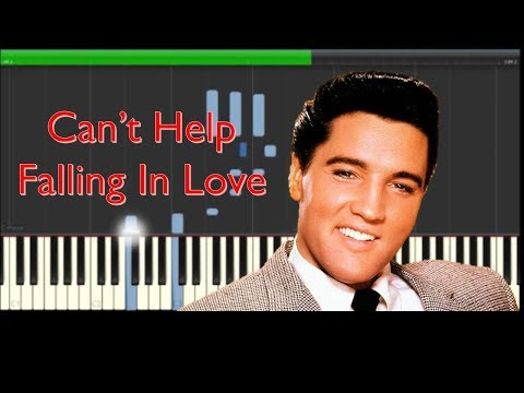 Elvis Presley Can't Help Falling In Love With You Piano Cover & Tutorial