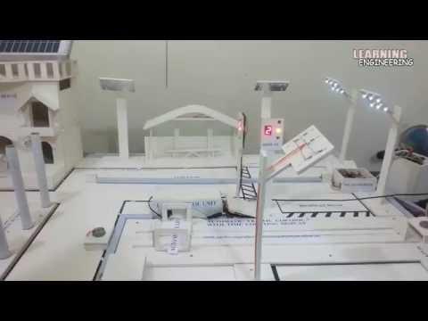 High School Science Fair Project │Energy Saving Smart City│