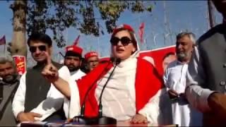 Shazia Aurang Zab New Speech ANP Jalsa Mardan 17 March 2017