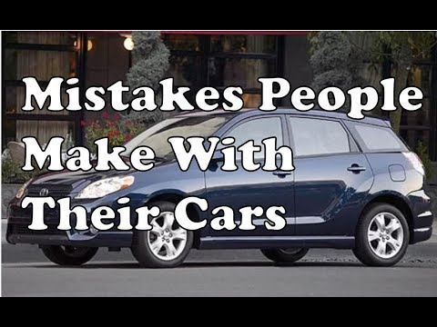 5 Mistakes Car Owners Make | Maintenance Problems