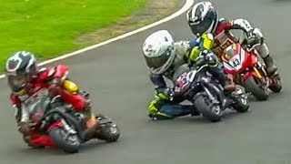 8m+ views: Kids In INCREDIBLE Minimoto Motorcycle Race! Cool FAB 2017 Rd 4, Minimoto Pro Class