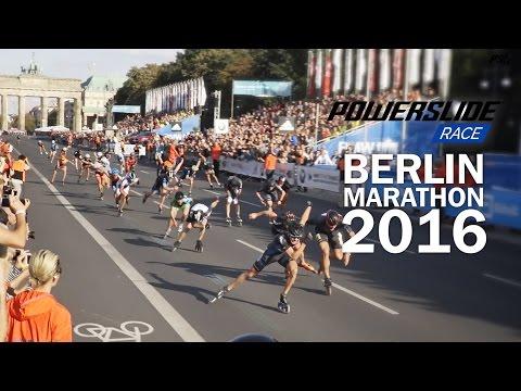 Berlin Marathon 2016 Inline skating - Powerslide Race Triskate invasion