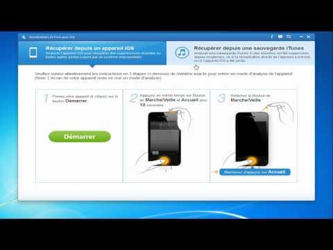 Comment extraire la sauvegarde iTunes pour votre iPhone dr fone