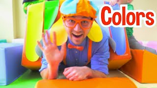 Blippi Learns Colors at The Indoor Playground For Kids   Learning Colors For Kids   Educational